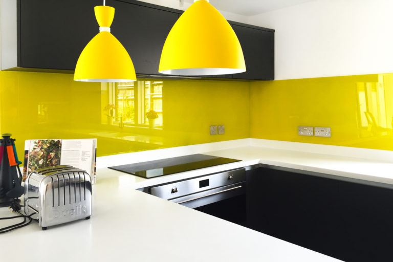 Painted Kitchen Splashbacks
