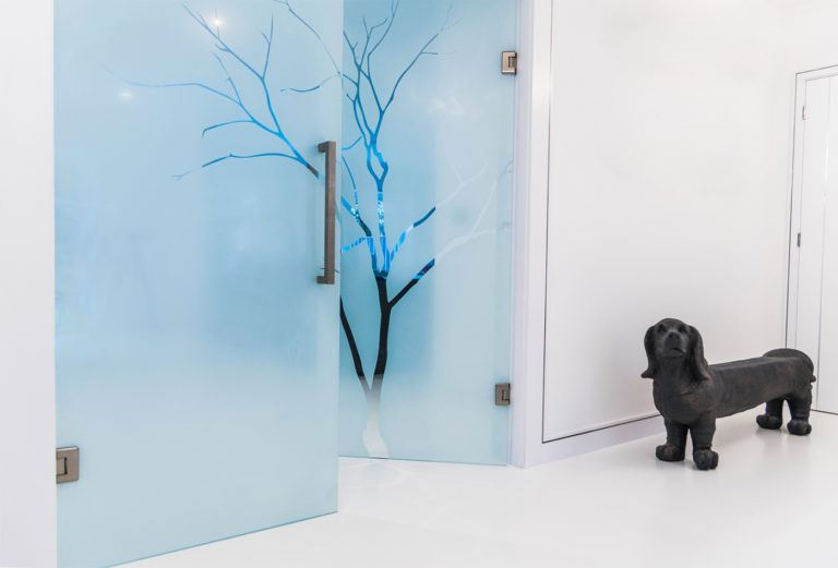 What is Sandblasted Glass?