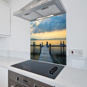 Printed Splashback - Sunset