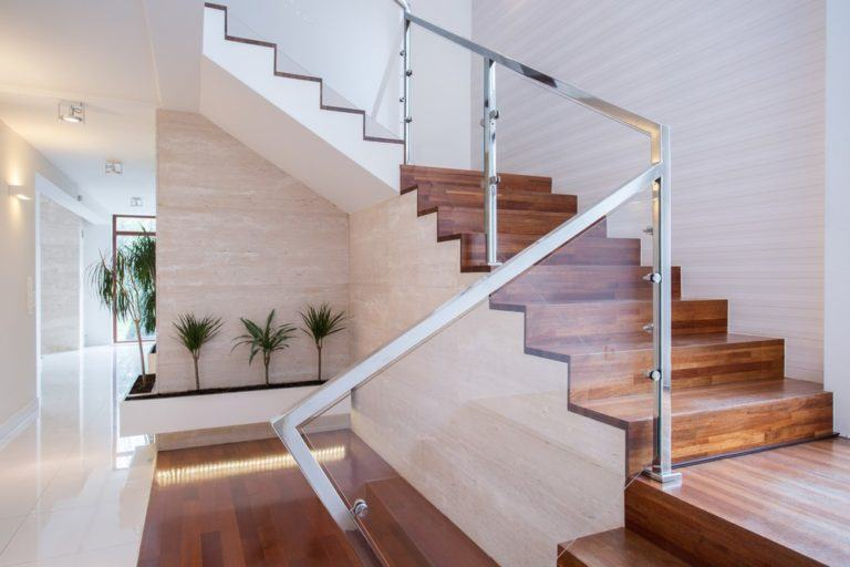Five inventive ways you can use glass in your staircase